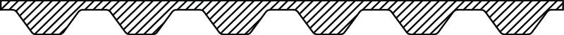 342075 Filler strip EPS