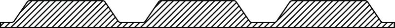 3435 S Filler strip EPS