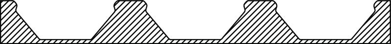 34CD45 1 Filler strip EPS