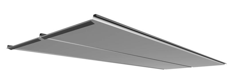 Plannja Modern folded front